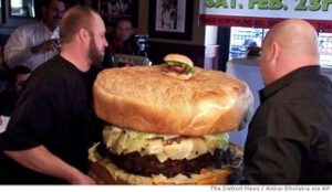 Largest Hamburger in the World!
