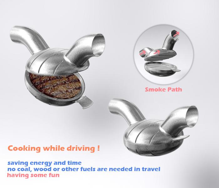 Exhaust Burger Details