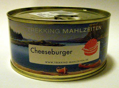 Trekking Mahlzeiten Canned Burger